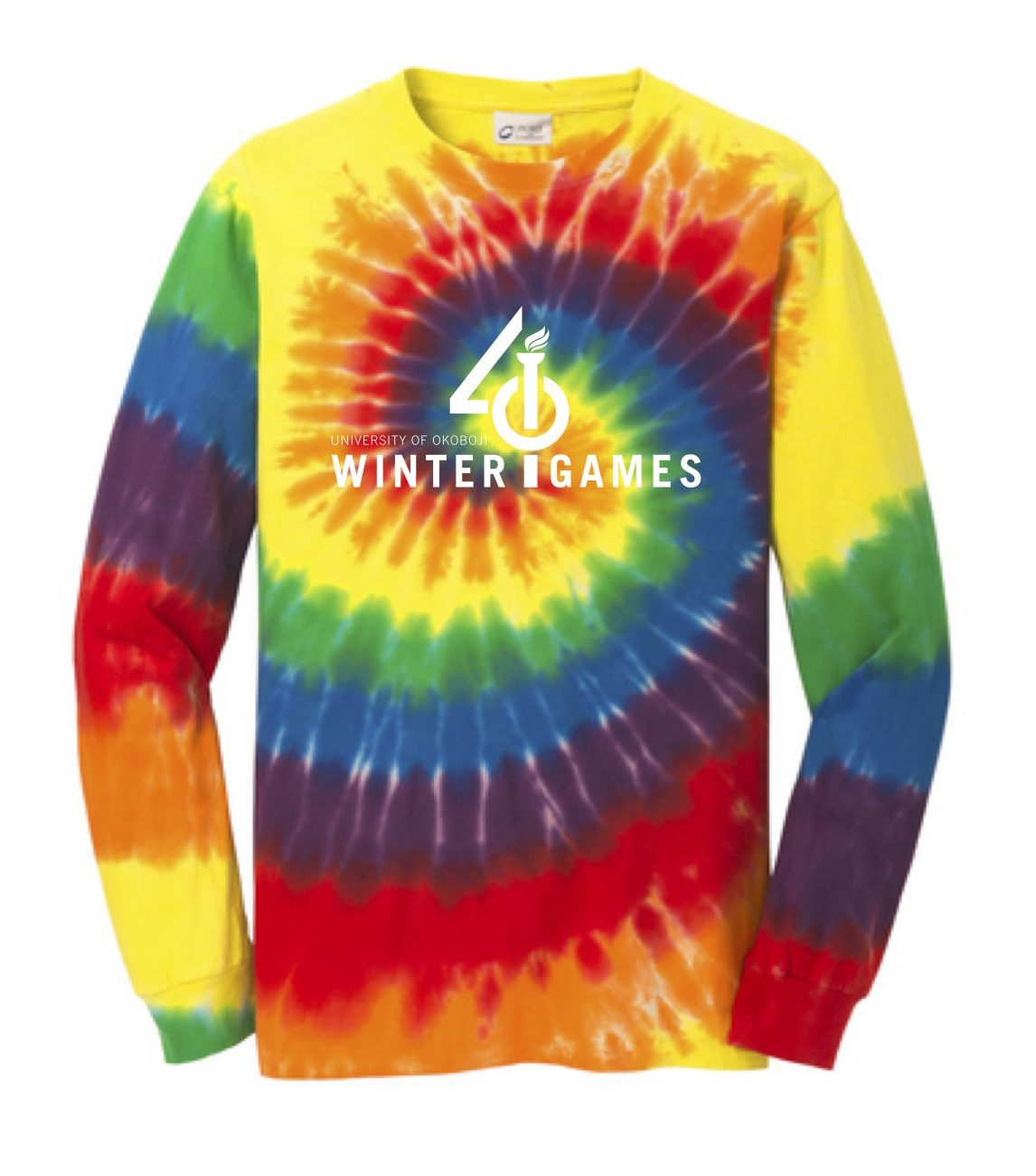 Rainbow Tie-Dye Long Sleeve